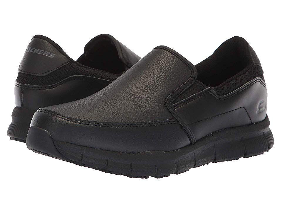 ba11ebcd3809 SKECHERS Work Nampa - Annod Women s Shoes Black
