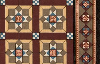 Patent Encaustic Tile Works Burslem C 1885 Catalogue From Hht Digital Trade Catalogues Collection
