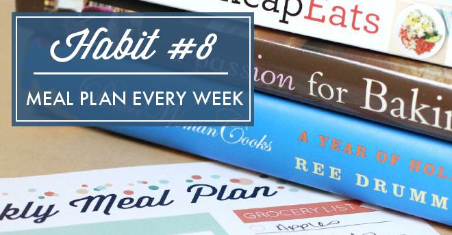 Meal planning helps avoid takeout, and will make sure you don't waste food from your fridge or pantry. You don't want to miss this meal plan challenge!