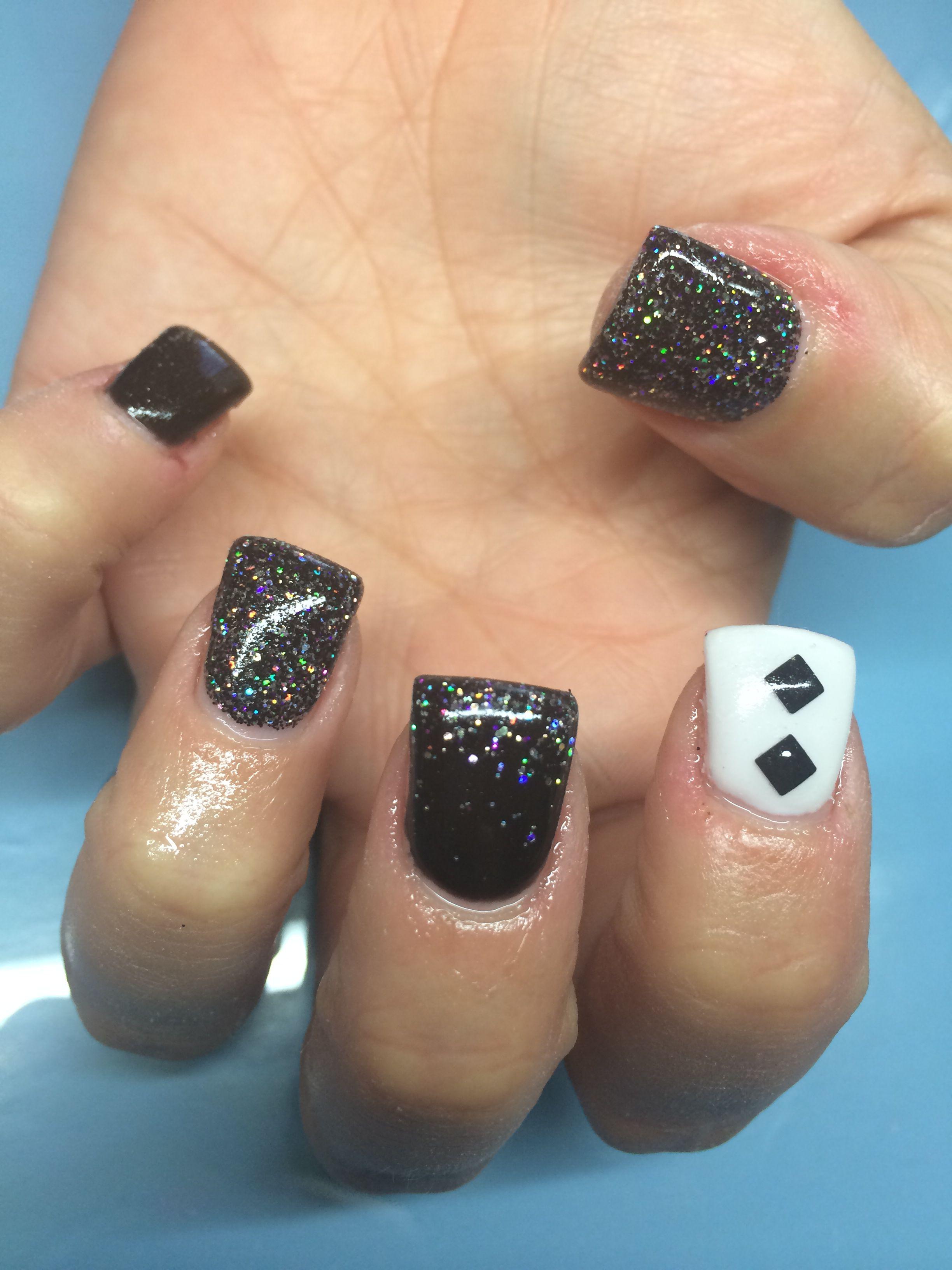 Black and white nail designs | nail designs and nail art. Stamp ...