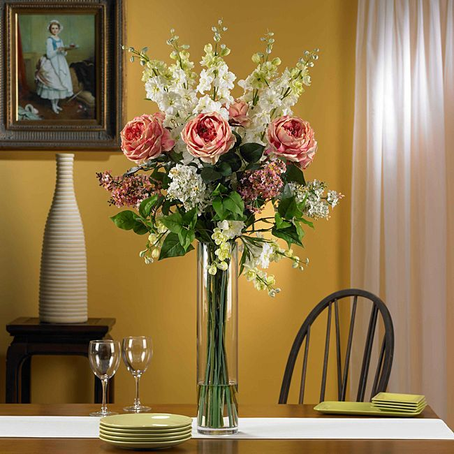 Overstock Com Online Shopping Bedding Furniture Electronics Jewelry Clothing More Artificial Flower Arrangements Flower Arrangement Designs Silk Flower Arrangements