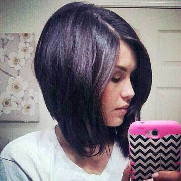 Pin By Jennifer Pettersen On Women S Hair Inverted Bob Hairstyles Bob Haircut With Bangs Inverted Long Bob