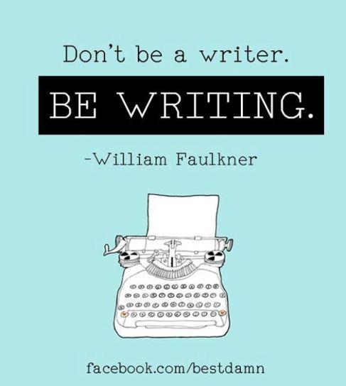 Be Writing