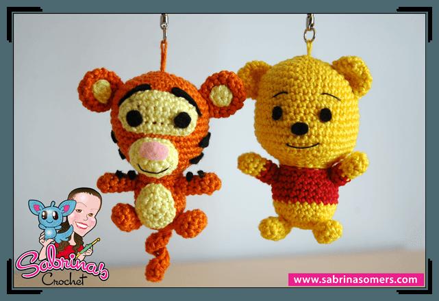 Free Amigurumi Disney Patterns : Crochet pattern tigger tigger amigurumi and free crochet