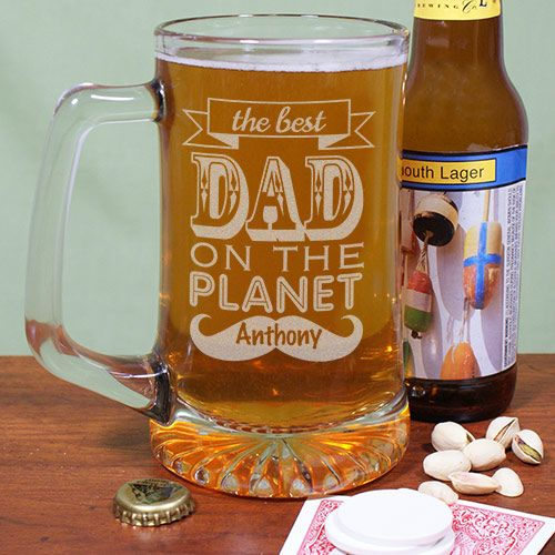 The is the perfect mug to have a good party drink with family and friends, and an even better gift for father's day!