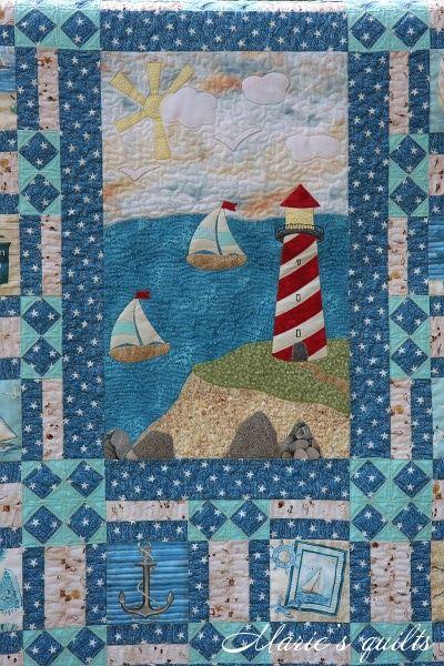 Marie's quilts: лоскутные одеяла