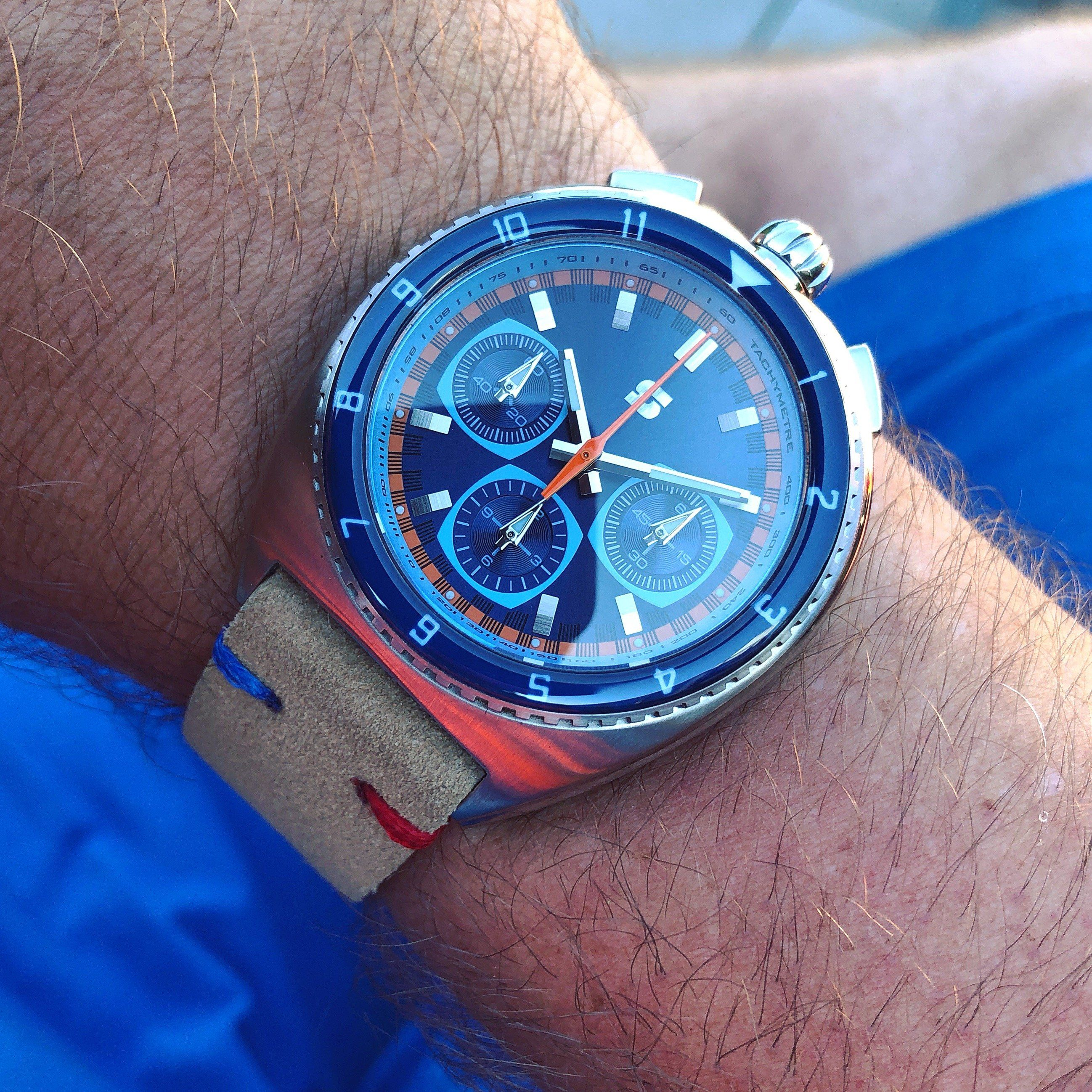 9671ce107057 Legera Bullhead - Straton Watch Company