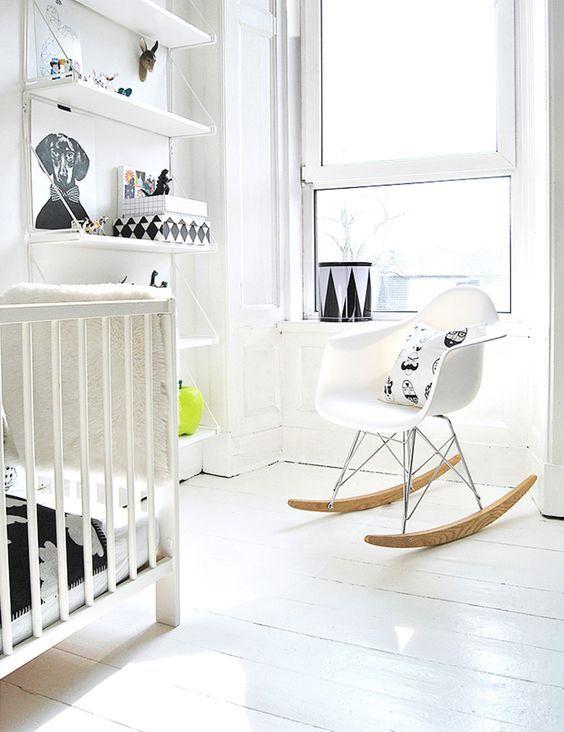 Eames Schommelstoel Babykamer.7 Originele Babykamer Ideeen Voor Jouw Kleintje Black And White