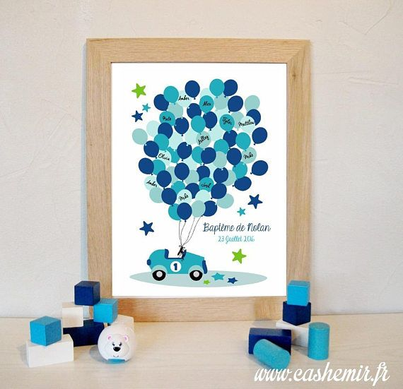 fingerprint tree for baptism or baby shower perfect to a personalized gift thumbprint art