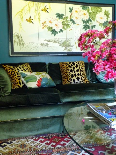 The Green Room Interiors Chattanooga, TN Interior Decorator Designer: One Room Challenge - An Introduction and My Home Office