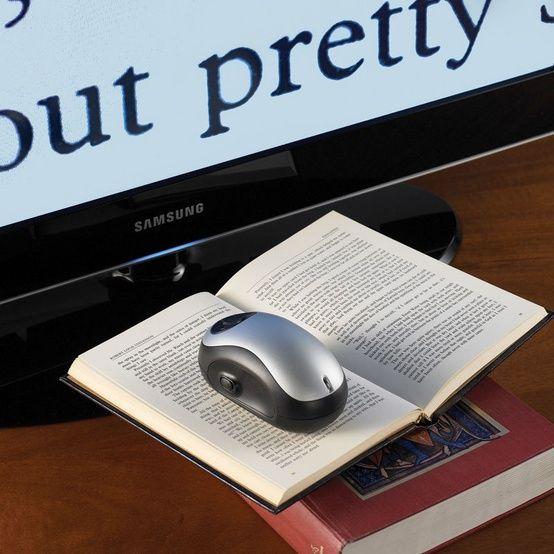 reading magnifier- high tech