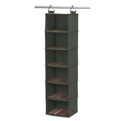 Household Essentials Cedarline 6-Compartment Hanging Organizer ... 7c701df934