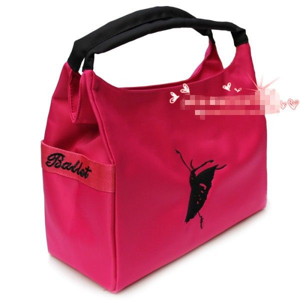 Hot sel! Embroidered ballet Fashion Dance girls and ladies bag, sports bag, portable and shoulder bag Free shipping XC 5155-in Ballet from Apparel & Accessories on Aliexpress.com | Alibaba Group