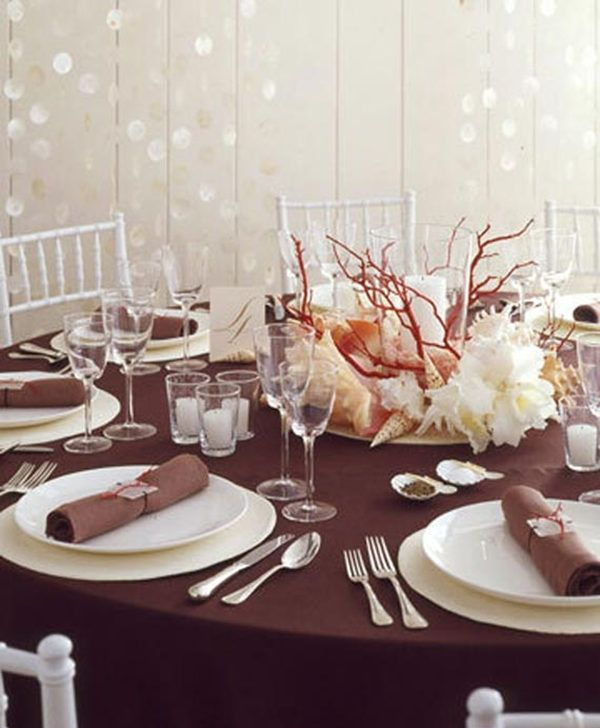25 Fabulous Wedding Centerpieces Without Flowers Spring Wedding