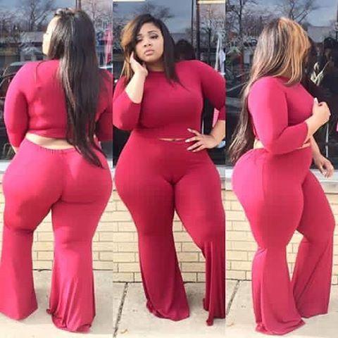 Bbw big round ass