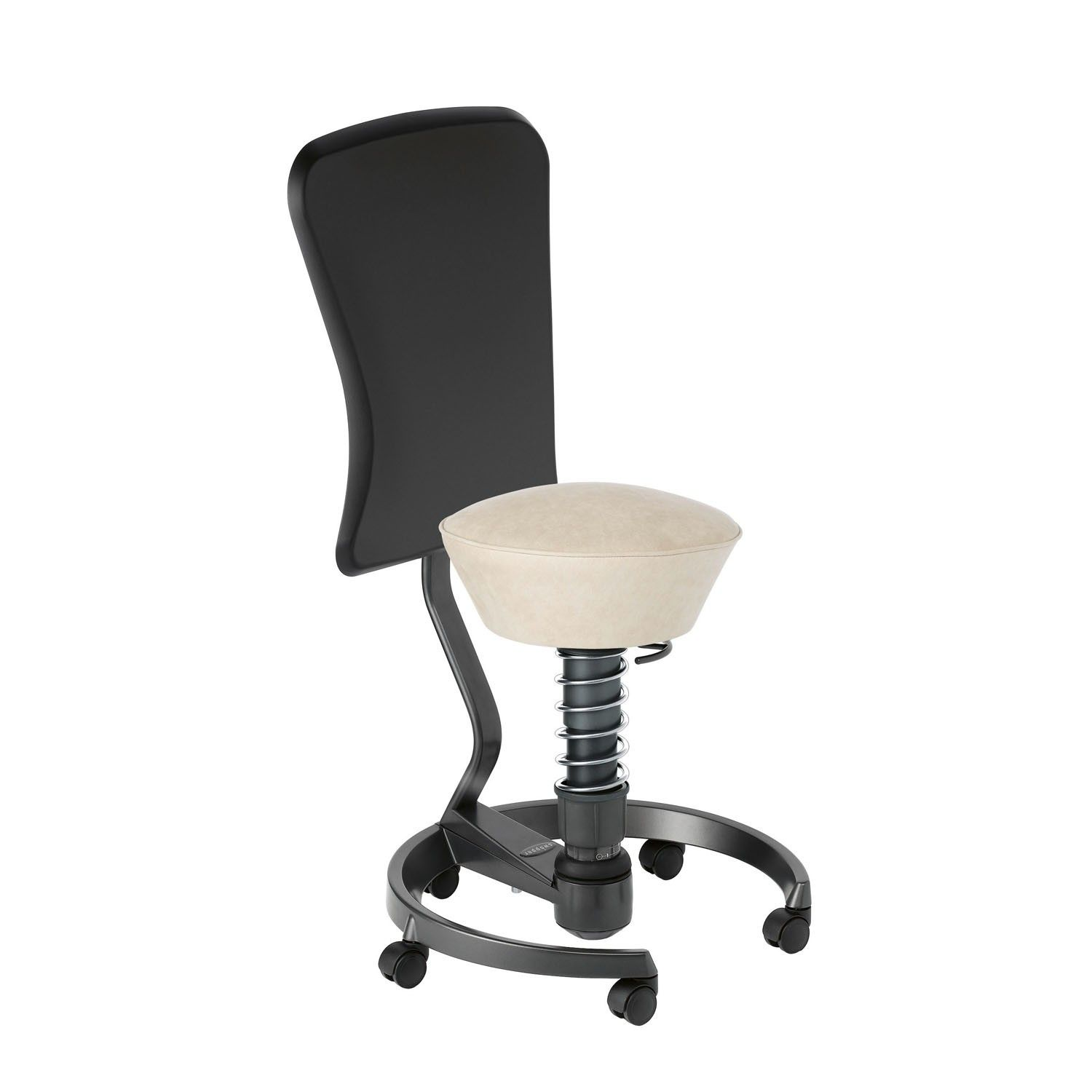 Active Sitting Chair Swopper Work Stool Is A 3d Active Office Swivel Chair Stool