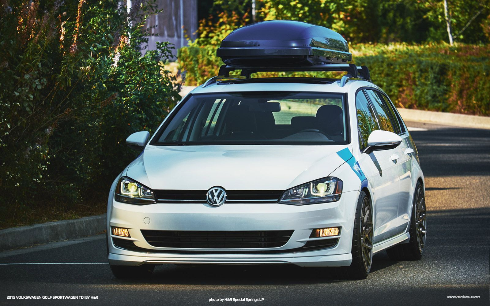 Vwvortex Com H Amp R Sharpens Golf Sportwagen Tdi Vw Tdi Volkswagen Golf Volkswagen