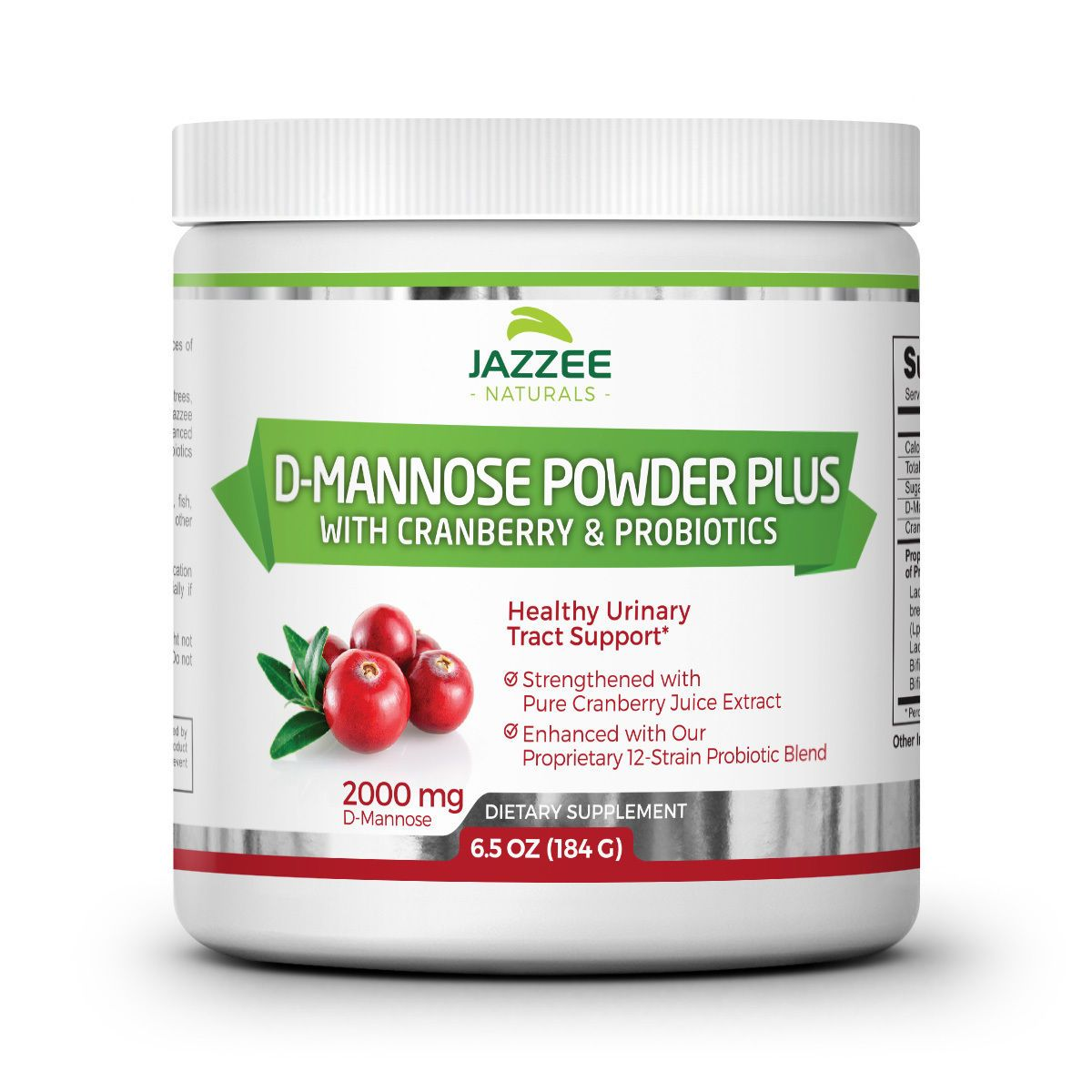 Jazzee Naturals Body Powder Health Beauty Pure Cranberry Juice