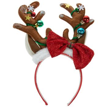 Reindeer Antlers Ornaments Headband Hobby Lobby 5379722 Christmas Stockings Personalized Green Tinsel Reindeer Antlers