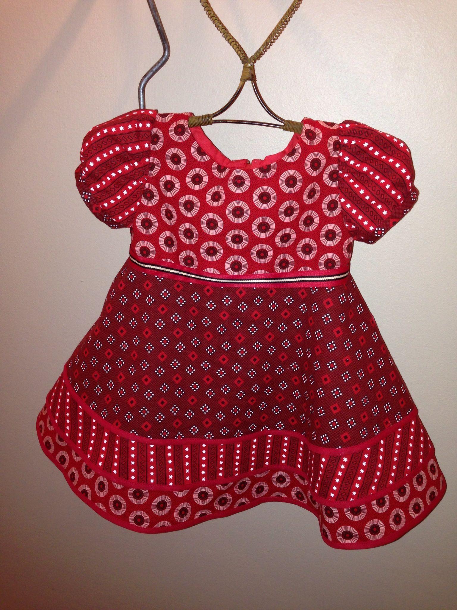d6b4acad0 Shweshwe dress for little girl!