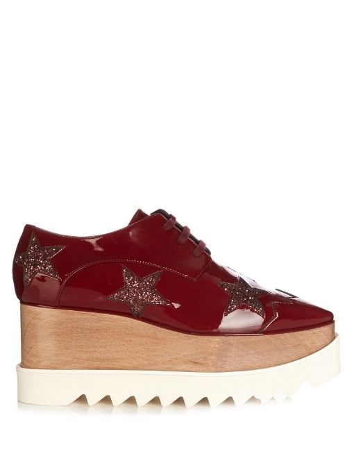 d651e4f995e Stella McCartney Elyse lace-up platform shoes