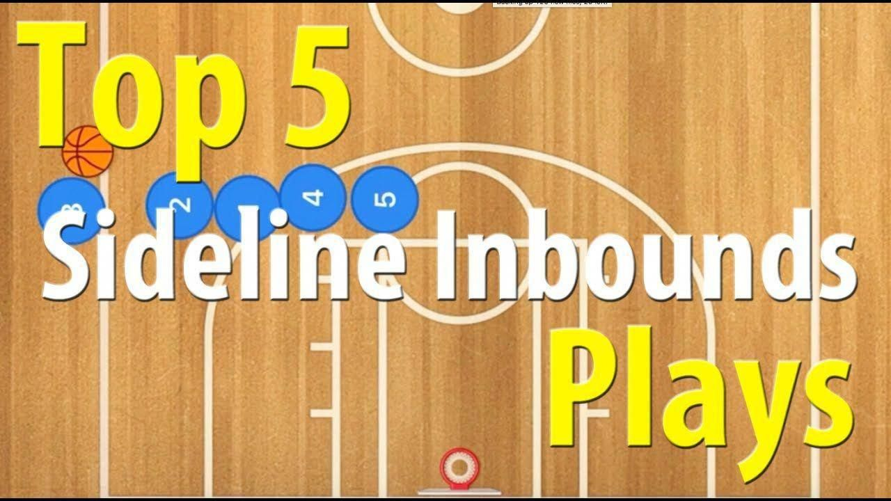 81c59d260787 Top 5 Best Basketball Sideline Inbounds Plays - YouTube  basketballcoaching   basketballplay