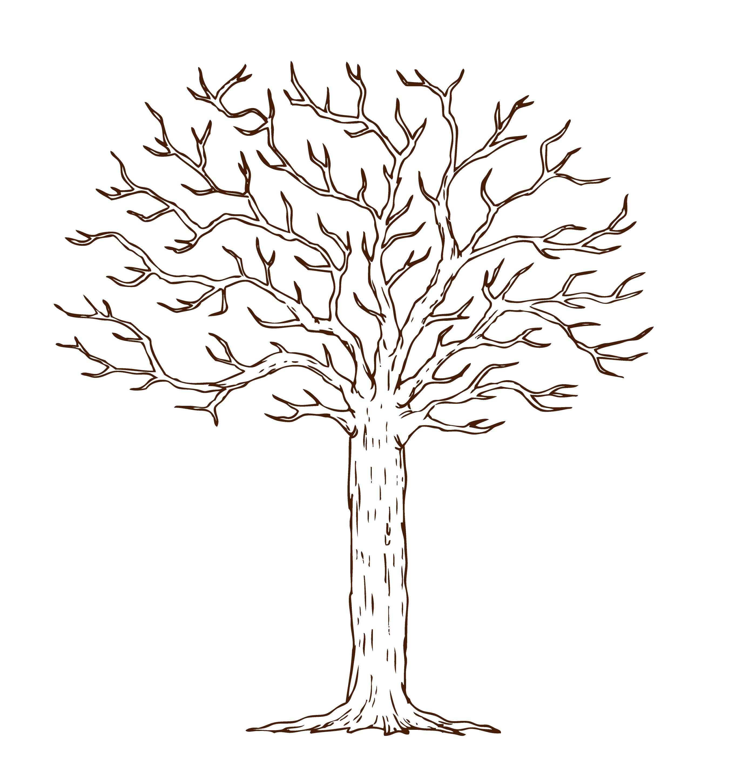 Дерево пожеланий на юбилей шаблон скачать бесплатно