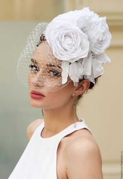 Photo of Wedding hat / Handmade clothing and accessories. I AM…