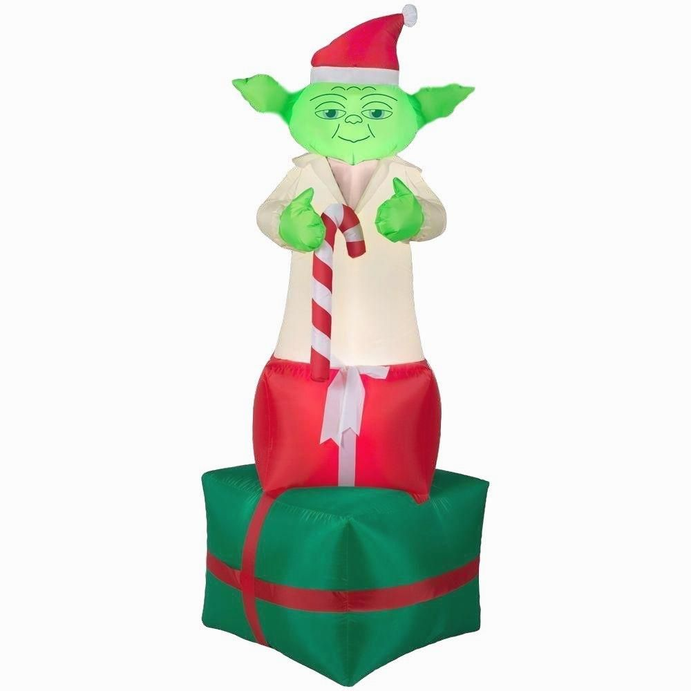 Star Wars Yoda Holiday Airblown Inflatable      >>>> Available here  http://bit.ly/2ftdqkP
