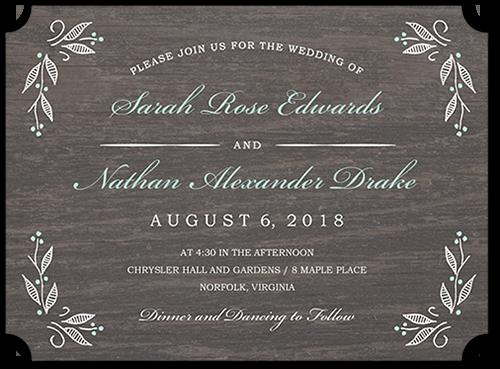 Floral Corners 6x8 Wedding Invitations Shutterfly In 2021 Wedding Invitations Wedding Invitations Rustic Personalised Wedding Invitations