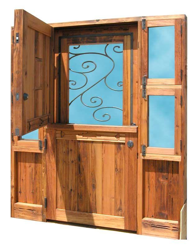 dutch door with screen - Google Search