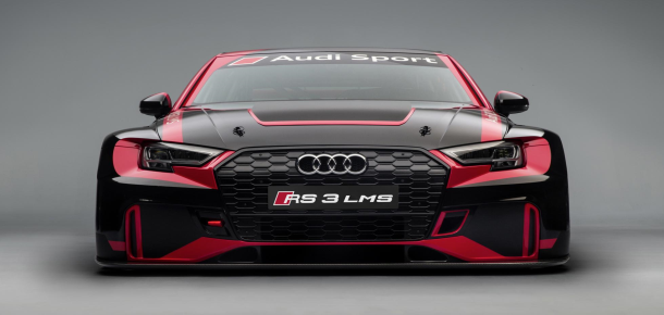 Audi Sport has pulled the wraps off its new RS3 LMS race