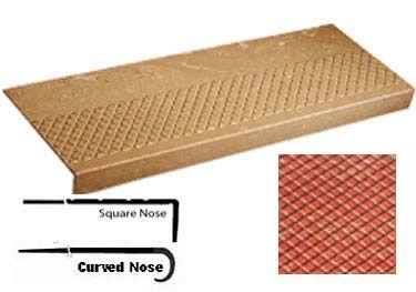 Best Roppe® Rubber Stair Tread Non Slip Diamond Design 400 x 300