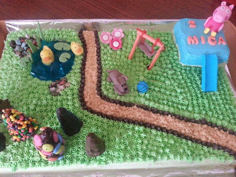 Micas Playground Cake Playground Cakes Pinterest Cake Cake