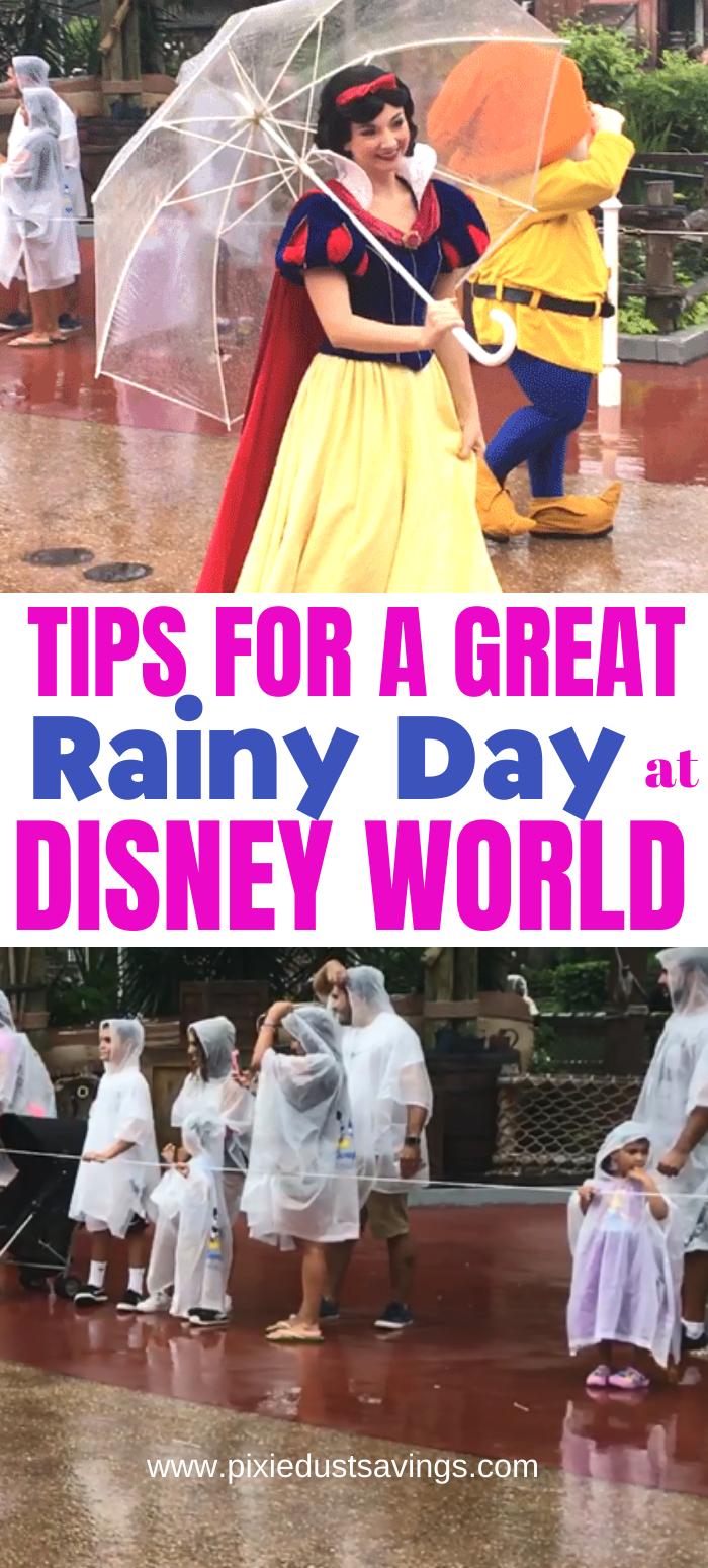 Photo of Was in Disney World zu tun ist, wenn es regnet