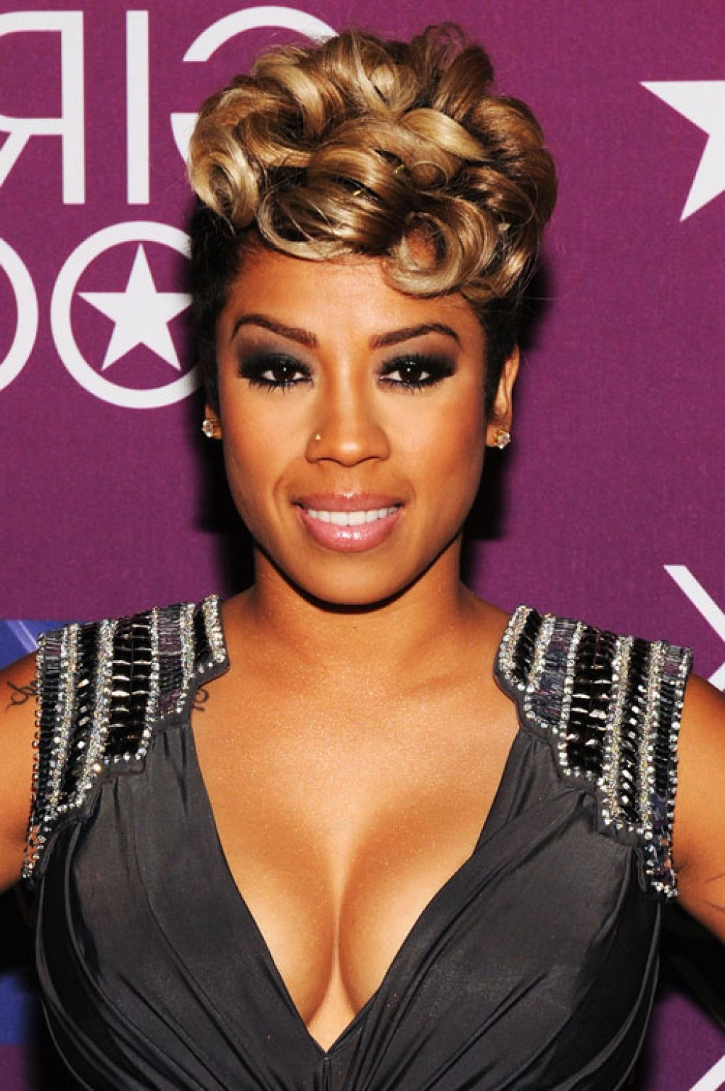 Pin On Keyshia Cole Short Hairstyles