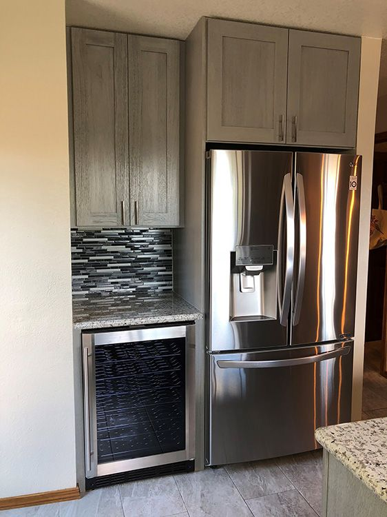 kitchen cabinet kings nova light gray | full overlay door
