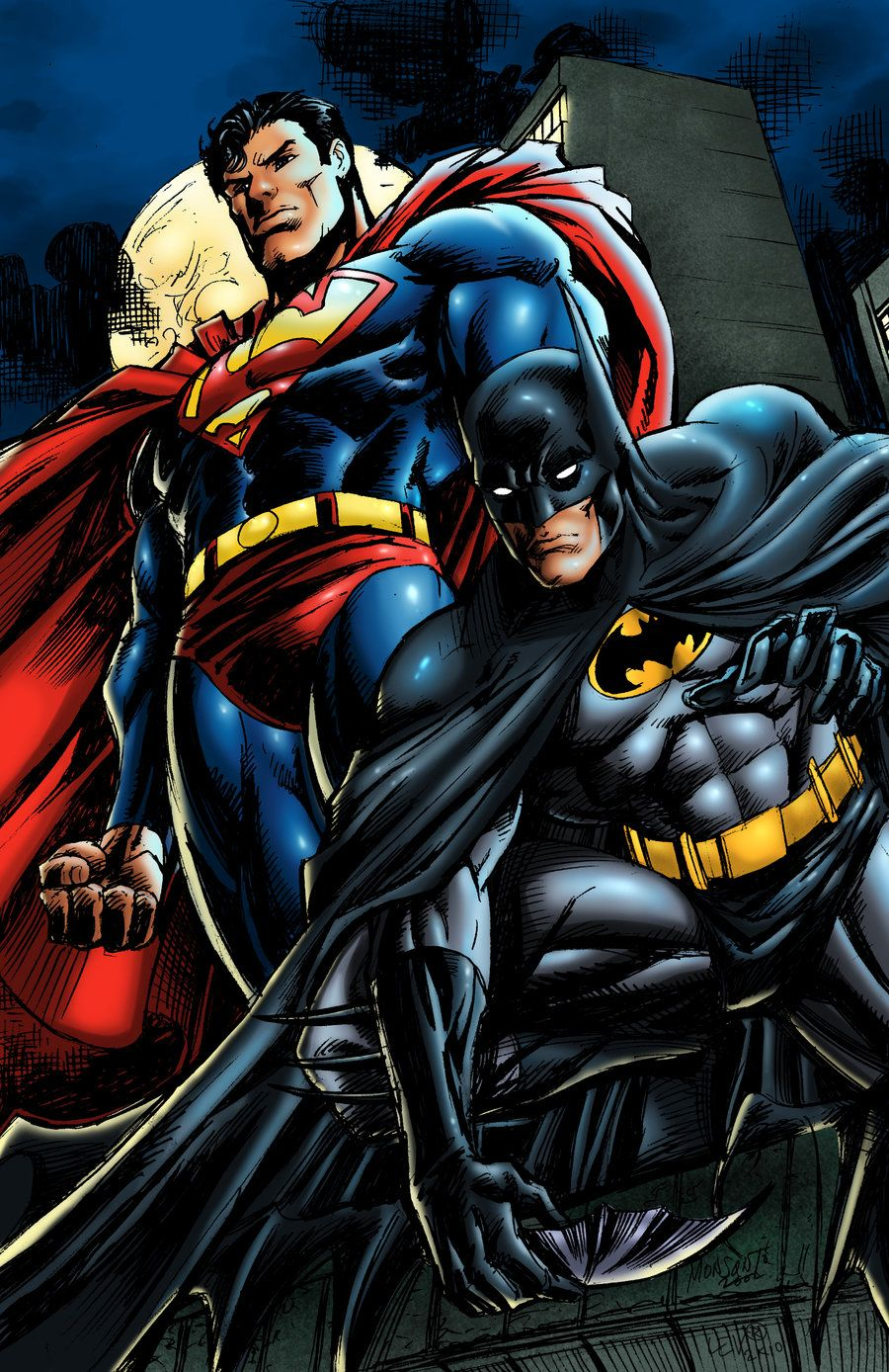 deviantart superman | Superman & Batman: World's Finest ...