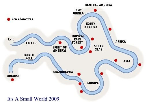 Its a small world map its a small world disneyland attraction its a small world map gumiabroncs Image collections