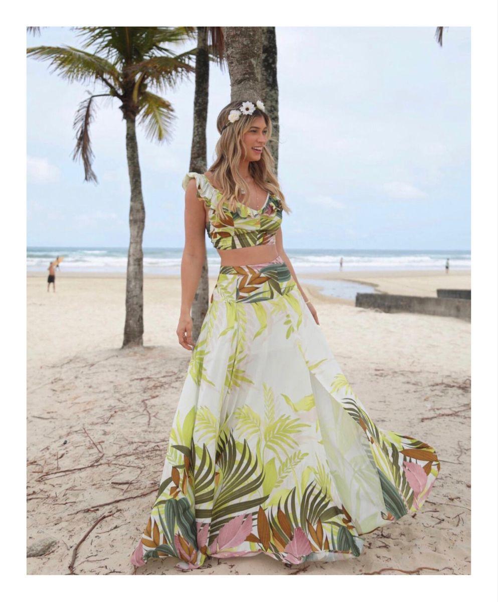 Conjunto floral nas cores do verão ✨ . . . #modafeminina #love #tedencia #summer #verao #2020 #conjuntofloral #dicasdemoda #style