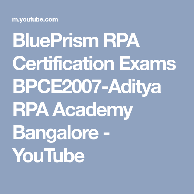 Blueprism Rpa Process Delivery Road Map 001 Aditya Rpa Academy