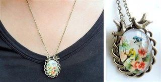 $3.99 - Vintage Bird Charm Necklace! - http://www.pinchingyourpennies.com/3-99-vintage-bird-charm-necklace/ #Birdnecklace, #Jane, #Pinchingyourpennies