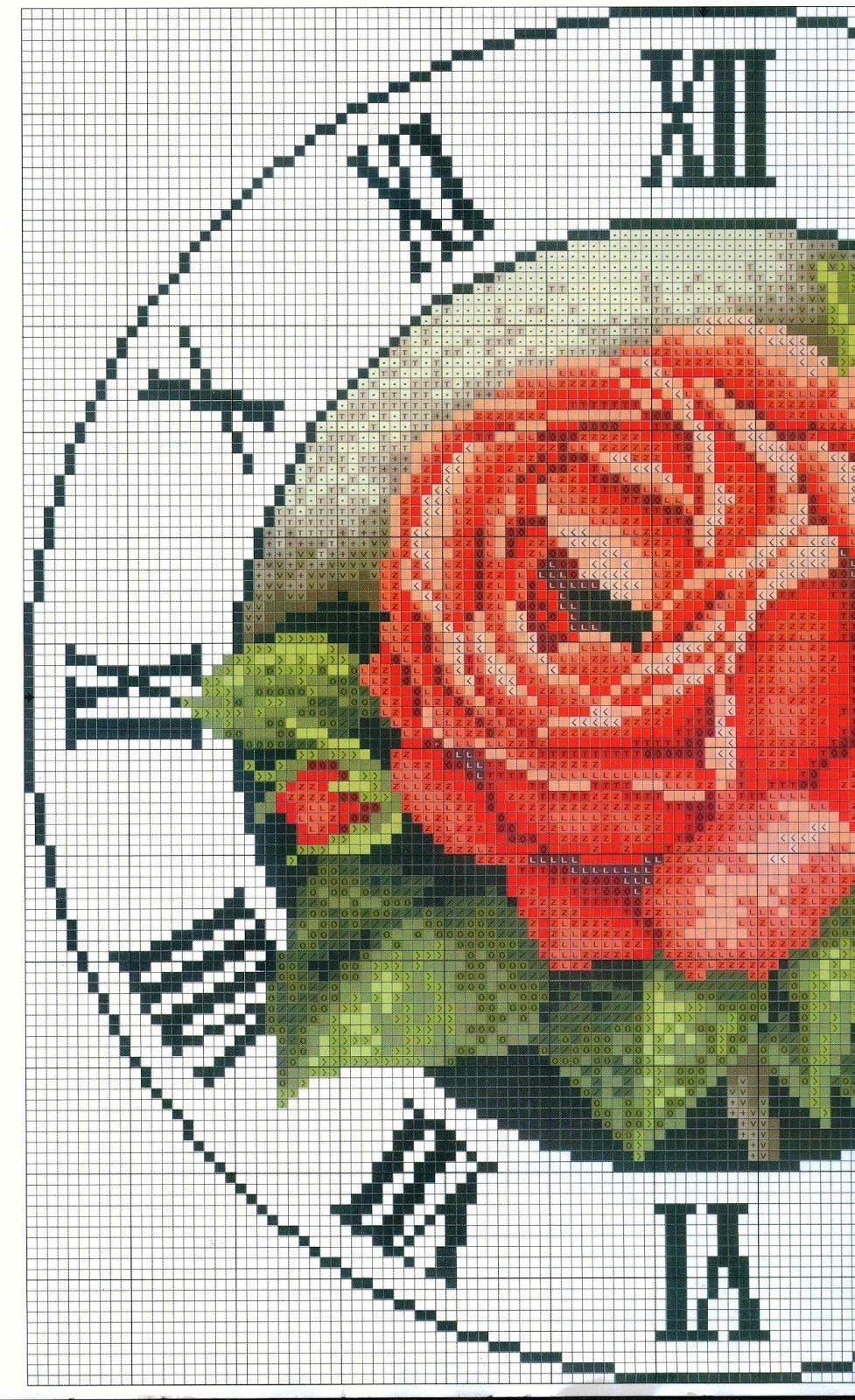 Schemi a punto croce gratuiti per tutti schemi punto for Orologio punto croce schemi gratis