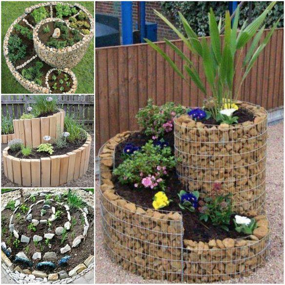 Spiral Herb Garden Pinterest Best Ideas Easy Video