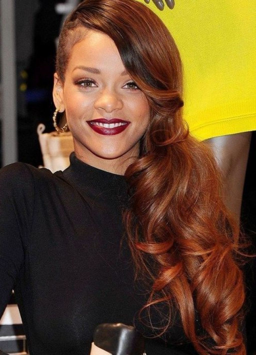 Rihanna Red Hair Bob Hairstyles For Black Women Chic And Trendy