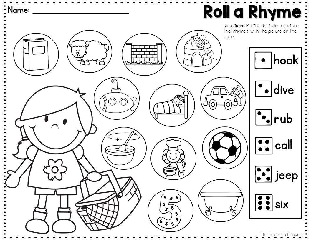 Summer Activities And Partner Games For Kindergarten