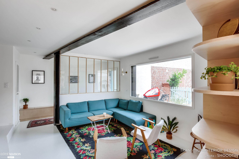 Aménagement complet d\'une maison de 200 m2, Transition Interior ...