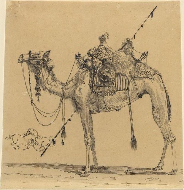 xx..tracy porter..poetic wanderlust-Rodolphe Bresdin, The Camel