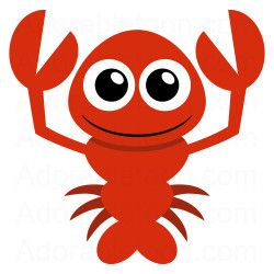 Cute lobster clipart f...