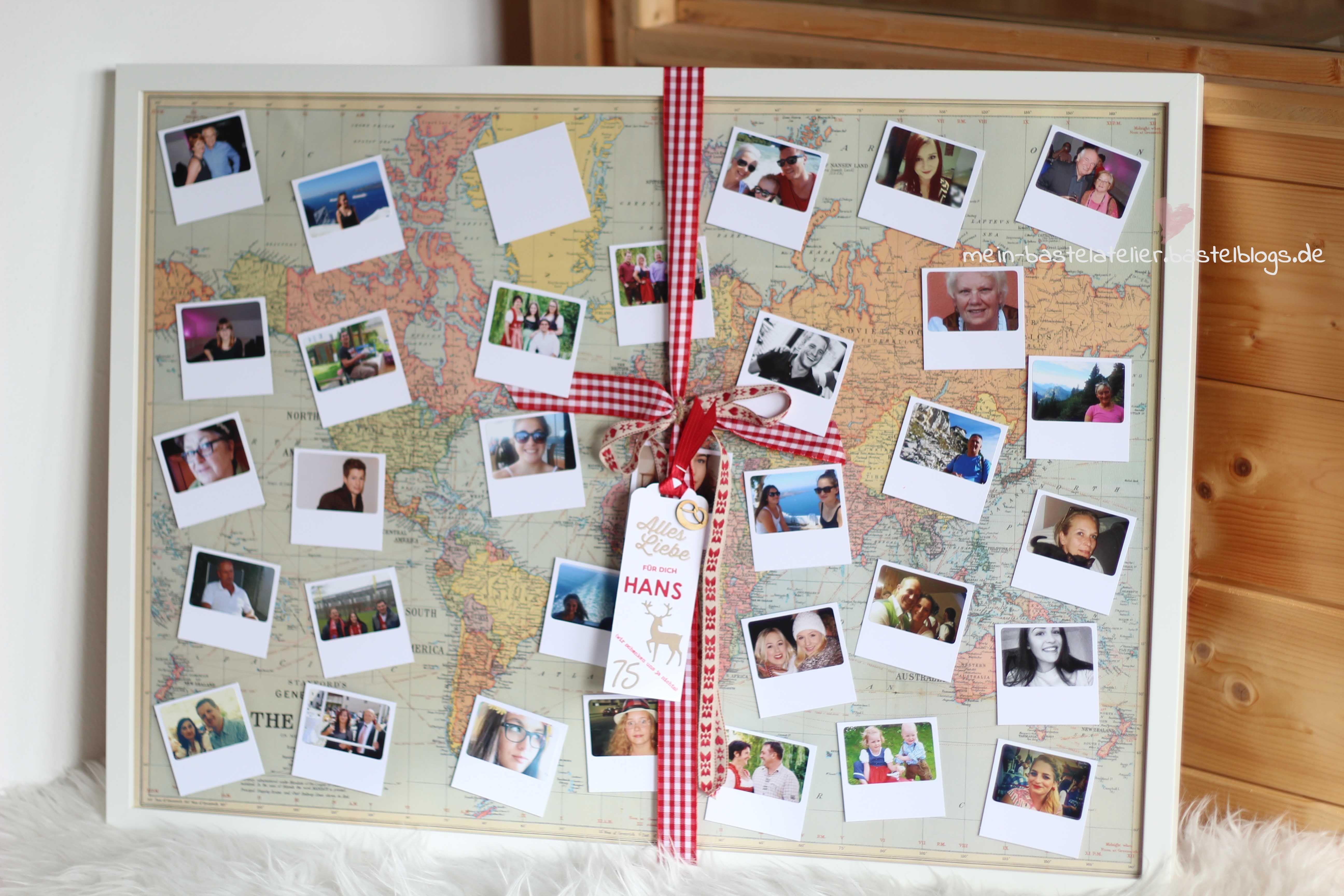 Geschenk zum runden Geburtstag: Rahmen Fotos von der ganzen Familie ...